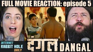 Dangal | FULL MOVIE REACTION | Aamir Khan | episode 5 | irh daily REACTION!