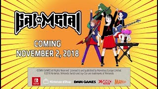 Marvelous Europe turns it up to 11 in free-form rhythm title Gal Metal, rocking on to Nintendo Switc