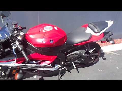 2014 Yamaha YZF-R6 in Chula Vista, California - Video 1