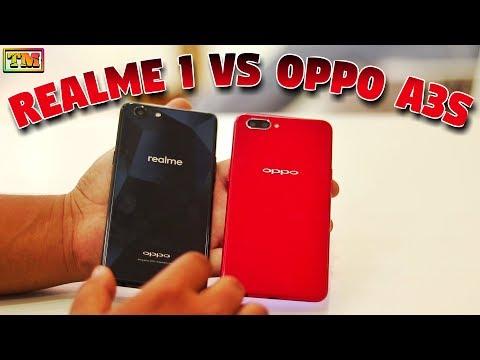 Download Oppo A3s Vs Realme 1 Speed Test & Camera Comparison HD Mp4 3GP Video and MP3