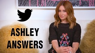 Am I recording a new album? Q&A | Ashley Tisdale
