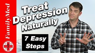 7 Ways to Treat Depression Naturally Without Medications!