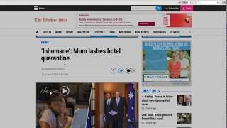 """一名澳洲妈妈被采访时是如何形容隔离条件差的?你知道用cramped表达""""狭窄拥挤""""的地道用法吗?"""