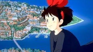 宮崎駿-魔女宅急便主題曲-能看見海的街道