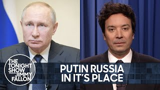 Biden Hits Russia With Sanctions, Dems Look to Expand Supreme Court | The Tonight Show