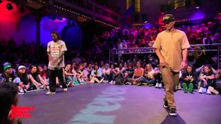 Icee vs Kato JUDGE BATTLE Hiphop Forever - Summer Dance Forever 2015