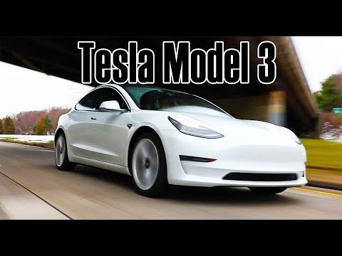 Drive and tour of the Tesla Model 3 - Long range
