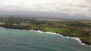 preview picture of video 'Landing in Lihue, Kauai'