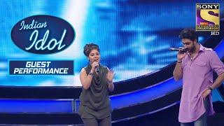 Sunidhi और Abhishek Bachchan की Impressive Tuning | Indian Idol | Guests Performance