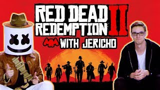 How To Play Red Dead Redemption 2 (Feat. Jericho) | Gaming with Marshmello