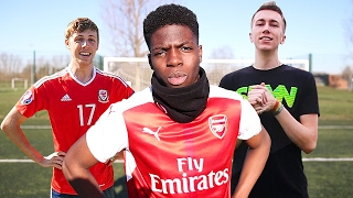 *UNSEEN* TOP 100 BEST FOOTBALL CHALLENGE MOMENTS ON YOUTUBE