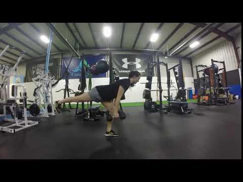 Exercise thumbnail image for Dead Stop Single Leg Deadlift