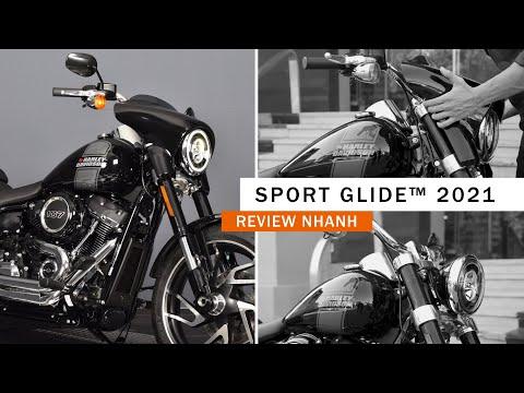 2021 Harley-Davidson® Sport Glide® Vivid Black