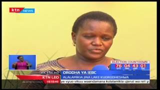 Mwakilishi wa Siaya alalimika kuwa jina lake limeorodheshwa na IEBC