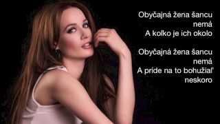 Kristína - Obyčajná žena (Lyric video)