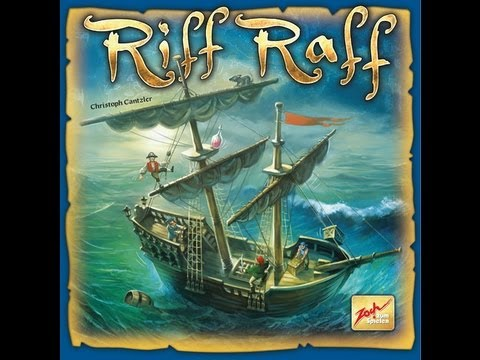 AVRAW #147 (with my co-host Rilyn) - Riff Raff: Why do all the cool dexterity games stay in Germany?