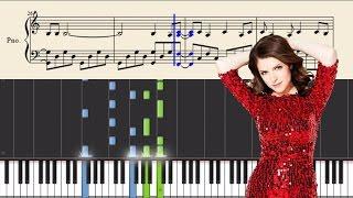 Gambar cover Anna Kendrick & Justin Timberlake - True Colors - Piano Tutorial + SHEETS