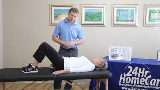 Physical Therapy Exercises for Seniors: Hip Replacement Exercises After Surgery - 24Hr HomeCare