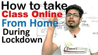 How to take class online during lockdown | How to teach online? - Download this Video in MP3, M4A, WEBM, MP4, 3GP