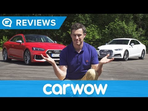Audi RS5 2018 review - worth £13k more than an S5? | Mat Watson Reviews