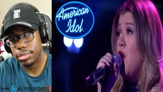 Kelly Clarkson - Piece By Piece American Idol The Farewell Season REACTION!