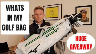 WHATS IN MY BAG - HUGE GOLF CLUB GIVEAWAY