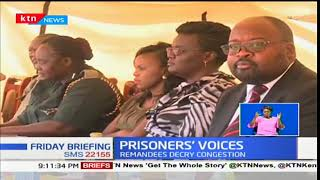 Judges speak to prisoners to honour prison open day at Kodiaga Maximum prison in Kisumu