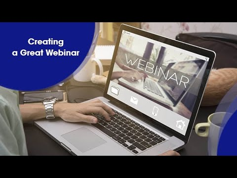 Creating a Great Webinar - Online Course Intro - YouTube