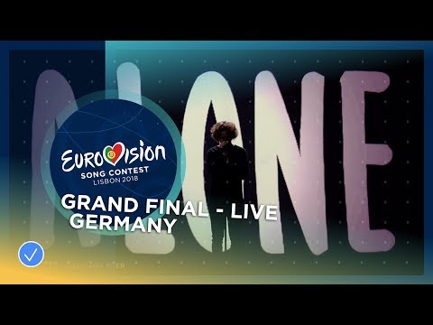 Michael Schulte You Let Me Walk Alone Germany Live Grand Final Eurovision 2018