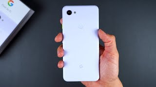 Pixel 3a XL (Purple-ish) - Unboxing and First Impressions