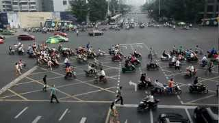 preview picture of video 'Traffic in Chengdu'
