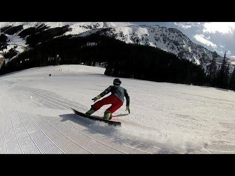 Donek Snowboards 163 Rev Slalom Race Prototype testing