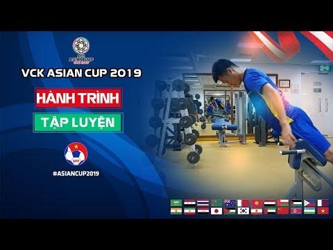 ĐT Việt Nam hồi phục thể lực tại phòng tập gym sau chiến thắng trước ĐT Yemen