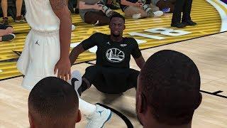NBA 2K19 vs NBA LIVE 19 Gameplay Graphics Comparison 2018 NBA All Star Game (PS4 Pro vs Xbox One)