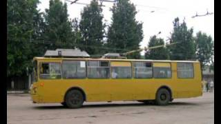 Конкурс водителей троллейбусов - Рязань 2009