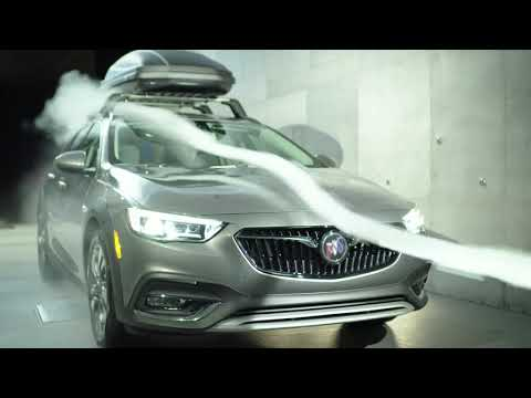 Buick Regal TourX: Aerodynamics Wind Tunnel Testing
