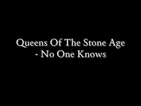Queens Of The Stone Age - No One Knows (Lyrics)