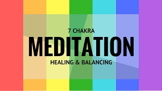 Best Mindfulness Guided meditation challenge for everyday practice. Seven Chakra Meditation guide.