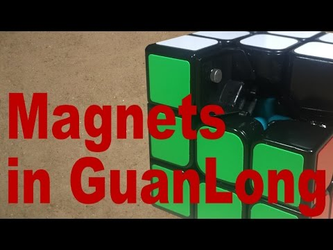 Magnets + GuanLong = Awesome Speedcube?