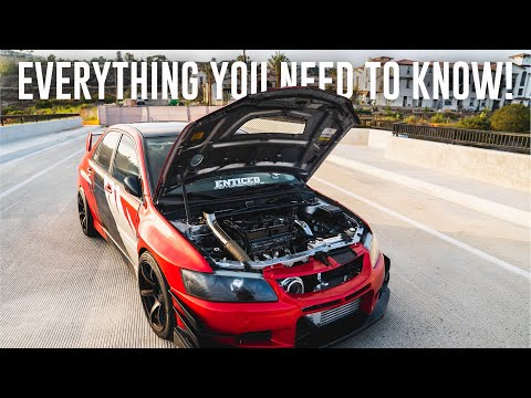 600hp EVO 8 FULL OVERVIEW!
