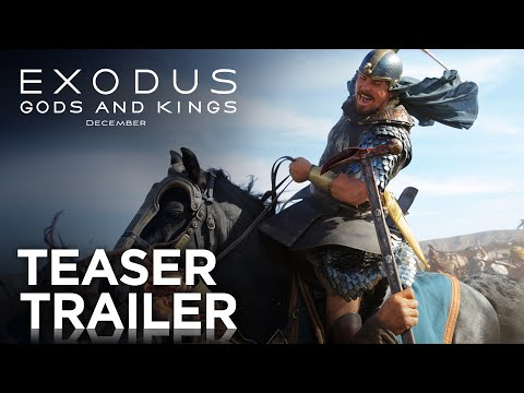 Video trailer för Exodus: Gods and Kings | Teaser Trailer [HD] | 20th Century FOX