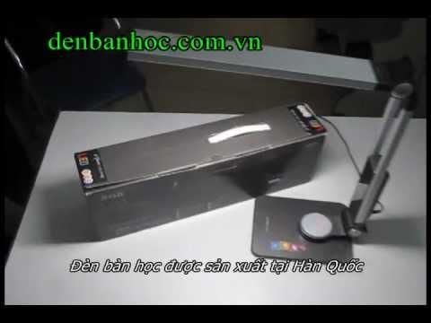 Trải nghiệm đèn bàn LED Hàn Quốc Serrier 4000