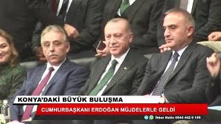 Cumhurbaşkanı Erdoğan müjdelerle geldi