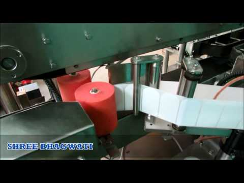 Single Side Sticker Labeling Machine For Flat Bottles