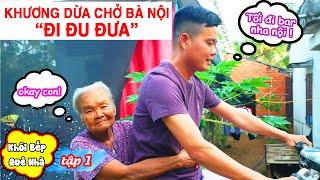 Khương Dừa nấu cơm đạm bạc ốc đắng kho khô tiêu, canh chua lục bình cho ba mẹ ăn|Khói Bếp Quê Nhà #1