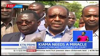 Prof. Gitau Kiama vows to stay put as wrangles threaten to cripple running of UON activities
