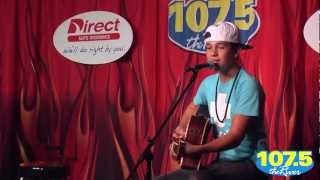 Austin Mahone Performs Let Me Love You At 1075 The River