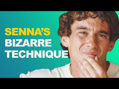 Image: This is the unique technique that made Ayrton Senna so fast