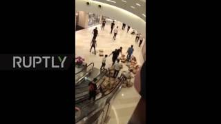 China: Fight in Shanghai mall over Adidas shoes as brand