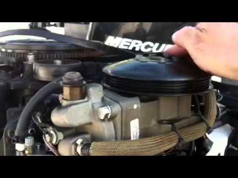 2011 Mercury optimax pro xs with failing air compressor